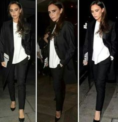 Victoria Beckham Style, Business Casual, Work Wear, Love Her, How Are You Feeling, Pants, How To Wear, Clothes, Heaven