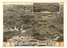 Hingham Mass map