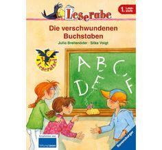 Die verschwundenen Buchstaben Rabe, Fiction Books, Baseball Cards, Comics, Children, Cover, Voigt, Ravensburger, German