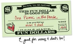 printable fun dollars gift certificates cards cheap free frugal gift ideas mom dad parents grandparents grandma grandpa
