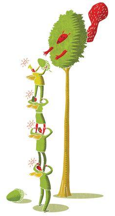 #paulboston #meiklejohn #illustration #digital #stylised #tree #character