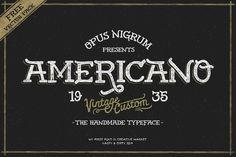 Americano by OpusNigrum on @creativemarket