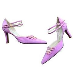 Rare Vintage Christian Dior by John Galliano Brand New Pink Cage Heel Shoes Sz 8