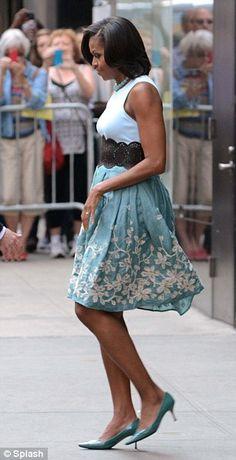 Michelle Obama I just like her dress