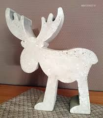 Christmas decoration and my birthday - yellow checkered - DIY ideas for Christmas Christmas decoration Plaster Crafts, Concrete Crafts, Concrete Projects, Ceramics Projects, Diy Projects, Cement Art, Concrete Art, Christmas Decorations Sewing, Damier