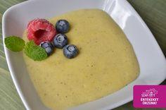 Gluténmentes, diétás vaníliapuding recept (light paleo, vegán, természetes alapanyagokból)