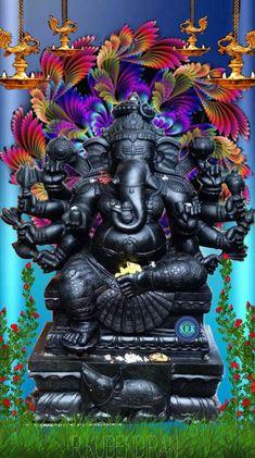 Kali Hindu, Sri Ganesh, Ganesha Art, Lord Ganesha, Pain Quotes, Goddess Lakshmi, Gallery, Roof Rack, Quotes About Pain