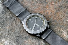 Sinn UBlack LE on Nato - My favorite timepiece on my wrist Big Watches, Sport Watches, Cool Watches, Watches For Men, Wrist Watches, Sinn Watch, Affordable Watches, Telling Time, Automatic Watch