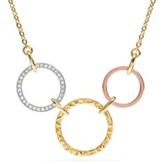 The Open Circles Necklace from Coach
