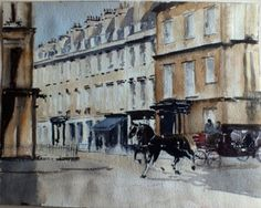 Carriage ride in Bath