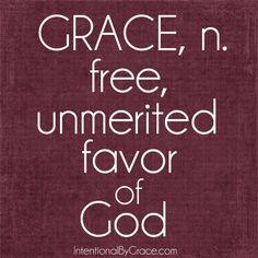 31 Days of Everyday Grace: Definition of Grace {Day 13}