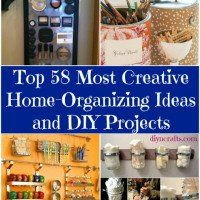 150 Dollar Store Organizing Ideas and Projects for the Entire Home - DIY & Crafts
