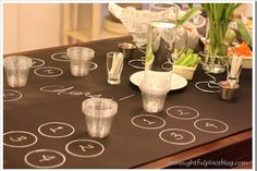 Beer Tasting Theme Party Ideas! Creative and not as expensive or formal as a wine tasting party! #cheers