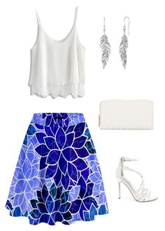 """Untitled #930"" by netteskytte on Polyvore featuring Chicwish, Steve Madden and Neiman Marcus"