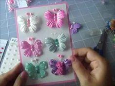Butterfly from flower