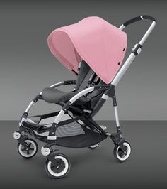 Bugaboo Bee Stroller - Soft Pink Canopy
