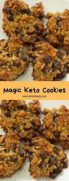 Magic keto cookies - healthy recipes keto diet в 2019 г. Low Carb Sweets, Low Carb Desserts, Low Carb Recipes, Cooking Recipes, Healthy Recipes, Keto Cookies, Cookies Healthy, Brownie Cookies, Galletas Keto