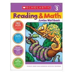 Reading & Math Jumbo Workbk Grade 3
