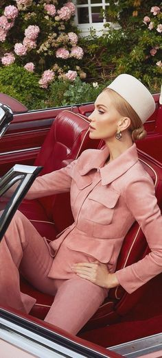 Luxury Life, Lady Luxury, Ready To Go, Red And Pink, Runway Fashion, Street Style, Stylish, Sexy, Woman