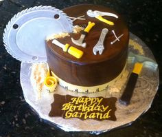 Tools of the trade cake