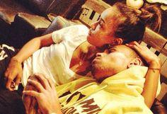 Chris Brown and Karrueche Tran: Cuddling on Instagram!