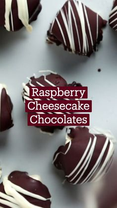 Fun Baking Recipes, Sweet Recipes, Dessert Recipes, Cooking Recipes, Cute Desserts, Delicious Desserts, Yummy Food, Raspberry Cheesecake, Raspberries