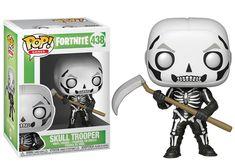 Funko Pop Games Fortnite Series 1 Skull Trooper Figurine for sale online Pop Vinyl Figures, Funko Pop Figures, The Witcher, Outlander, Dragon Ball, Funk Pop, League Of Legends Game, Barcelona, Battle Royale
