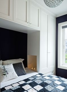 Chic Wardrobe Design Ideas For Your Small Bedroom - Chic Wardrobe De. - Chic Wardrobe Design Ideas For Your Small Bedroom - Chic Wardrobe Design Ideas For Your Small Bedroom - - Bedroom Built Ins, Built In Bed, Small Master Bedroom, Master Bedroom Design, Wardrobes For Small Bedrooms, Master Suite, Tiny Bedroom Storage, Organizing Small Bedrooms, Ikea Small Bedroom