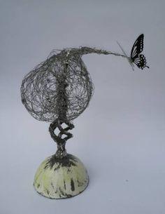 "Saatchi Art Artist Maja Taneva; Sculpture, ""B in Paris"" #art"