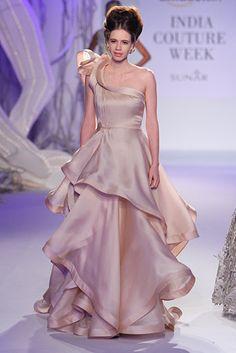 Kalki Koechlin for Gaurav Gupta Indian Wedding Gowns 515085a56