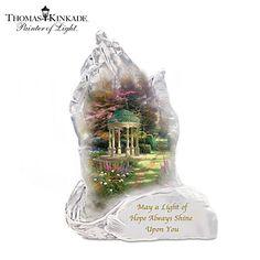Thomas Kinkade Garden Of Hope Sculpture from Bradford Exchange