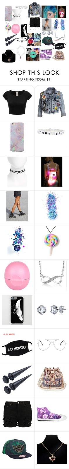 """""""#131 SPACECAMP TOUR 2017"""" by spider-1505 on Polyvore featuring Mode, Alice + Olivia, Topshop, J. Valentine, In Your Dreams, Unicorn Crafts, River Island und Jewel Exclusive"""