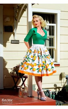 Pinup Couture - Doris Top in Dark Green | Pinup Girl Clothing