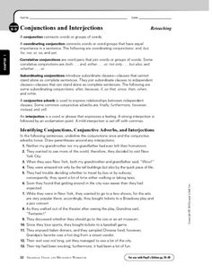 conjunctions coordinating correlative and subordinating conjunction activities worksheets. Black Bedroom Furniture Sets. Home Design Ideas