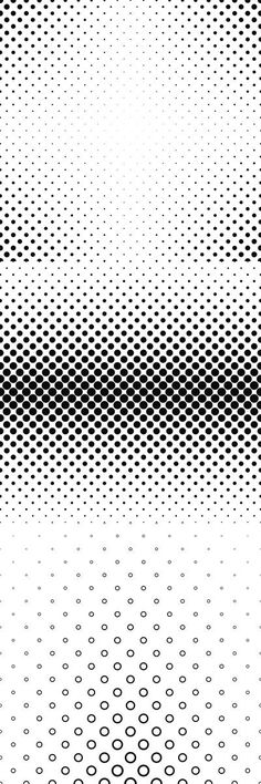 Black and white circle/polkadot pattern background collection - 99 vector patterns (EPS + JPG)