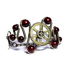 Steampunk Jewelry. I'm new to this whole Steampunk movement and totally diggin what I see!!
