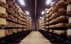 Giant cheese cave