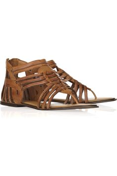 Need for summatime! Kourion leather gladiator sandals