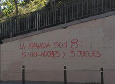 La Manada se viste con toga, Violadores, INjusticia, Justicia patriarcal, #YoSíTeCreo, Audiencia de Navarra, Tomemos la calle