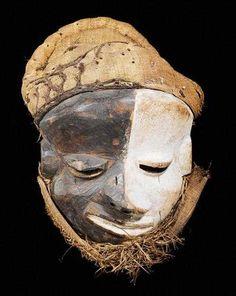 Pende Mbangu Mask, DR Congo http://www.imodara.com/item/dr-congo-pende-mbuya-village-mask-mbangu-sickness-mask/