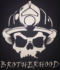 Fire department brotherhood decal by OTWdecals on Etsy, $10.00