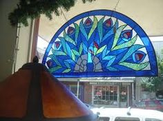Image result for semi-circle stained glass designs