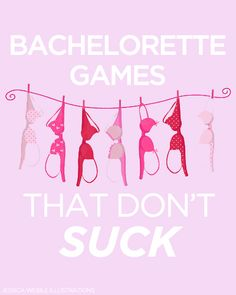 10 Bachelorette Games That Aren't Lame!