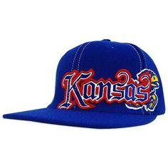 KU Saga Flat Bill Hat. I really want this hat!! b23dc9781c1a