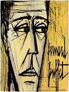 Bernard Buffet - Autoportrait - 1958
