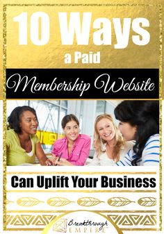 If you have a service based business or are thinking about starting one, you should definitely consider creating a paid membership site for your business.  Adding a membership site to your business model can add an extra wow factor to your brand.