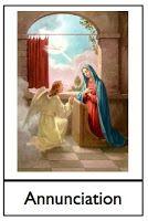 Rosary Three-Part Cards