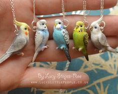 Funky Vintage Pájaros Del Amor Collar Lindo Dulce Boho Chic Tweet Kitsch Emo Moda