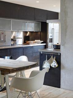 Milo and Mitzy Kitchen Black and White