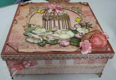Scrap Decor (altetered box)